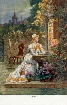 Faust I:Gretchen am Zwinger