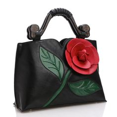 dae89130fd Cheap brand tote bag, Buy Quality tote bag directly from China tote bags  brand Suppliers: Big Rose Flower Women Leather Handbags Luxury Tote Bag  Brand ...