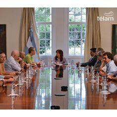 @cfkargentina con los familiares de la AMIA