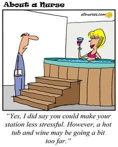 Cartoon: Creating a less stressful environment...