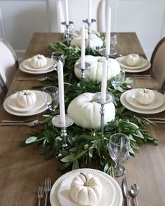 Neutral Fall Table Style – Cape Cod Farmhouse