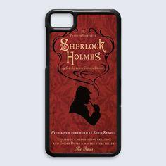 Sherlock Holmes Books BlackBerry Z10 Case $16.89 #etsy #Accessories #Case #CellPhone #BlackBerryZ10 #hardcase #plasticcase #hardcover #sherlockholmes #books #story #ArthurConanDoyle #withanewforeword #novel