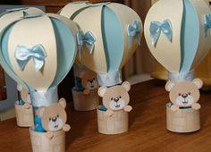 CHÁ DE BEBÊ MENINO (FESTA) BABY SHOWER BOY (PARTY) Baby Shower Deco, Baby Shower Balloons, Baby Shower Themes, Baby Boy Shower, Teddy Bear Birthday, Happy Birthday, Balloon Birthday Themes, Elephant Baby Showers, Boy Decor