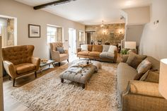 Cosy living space at Coach House