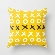 This decorative pillow is the perfect addition to any kind of decor, it will look good in every room and will add them a modern and original touch. It's an original design by ©thegretest. Indoor Pillo