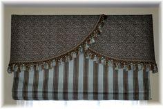 Custom Roman Shades, Cornice, Window treatment