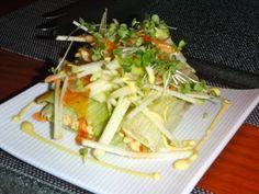 Chicken Salad #Edinburgh #Mithas #lunch #Tastingmenu #Chicken #foodporn #indian