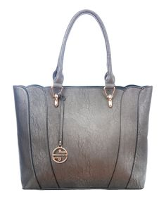 This Pewter Seam Tote by Segolene Paris is perfect! #zulilyfinds