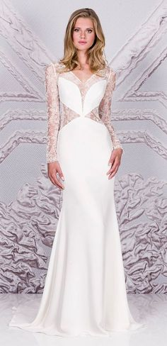 Featured Dress: Suzanne Neville; Wedding dress idea.