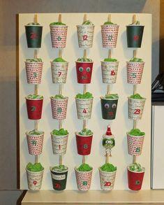 Diy christmas games for kids advent calendar 49 Ideas Advent For Kids, Christmas Games For Kids, Christmas Holidays, Christmas Decorations, Xmas, Homemade Advent Calendars, Advent Calendars For Kids, Diy Advent Calendar, Christmas Calendar