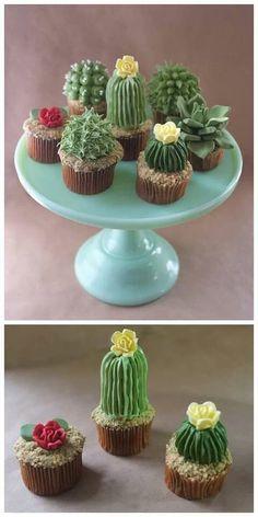 Cacti Cuppycakes! !