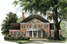 William E Poole Designs - Homes Southern Style