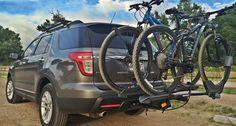 Dual Trekker Platform Hitch Bike Carrier - #RBC048