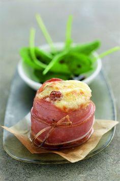 Sushis de chèvre gratiné de jambon cru | Recette Soignon