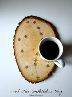 Wood slices, Botanical prints and Diy wood