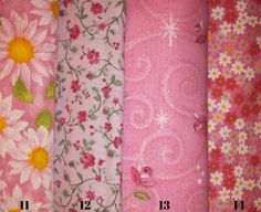 Flowers on Pink Fabric page 2