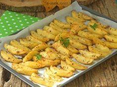 Fırında Yoğurtlu Patates Kızartması Resimli Tarifi - Yemek Tarifleri