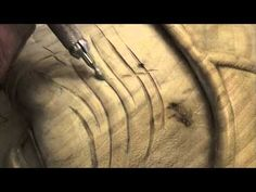 Woodcarving Lessons with Ian Norbury - 09 - Wrinkles