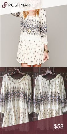 FREE PEOPLE Enid Dress New condition, never worn. Free People Dresses