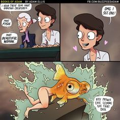 Prince Eric knows what he likes. No judgments. | 8 Disney Princess Comics That Will Ruin Your Childhood