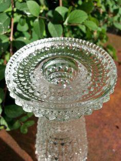 Mid Century Oiva Toikka Kastehelmi (dew drop) vase / taper candle holder Arabia…