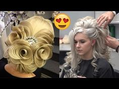 New Year's Eve Hair Styles ★ Hairstyle For occasion ★ Happy New Year 2018 - YouTube