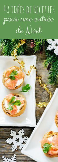 Saint-Jacques, carpaccio, bûches salées : 40 idées de recettes pour une entrée de Noël !