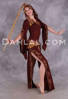 Dahlal Internationale Store - SAIDI HELWA Gallabeya in Wine and Gold by Designer Eman Zaki, Egyptian Belly Dance Dress, $150.00 (http://www.dahlal.com/saidi-helwa-gallabeya-in-wine-and-gold-by-designer-eman-zaki-egyptian-belly-dance-dress/):