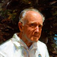 """John Archibald Wheeler was an American theoretical physicist who was largely responsible for reviving interest in general relativity in the United States after World War II. Wheeler also worked with Niels Bohr in explaining the basic principles behind nuclear fission. One of the later collaborators of Albert Einstein, he tried to achieve Einstein's vision of a unified field theory. He is also known for having coined the terms black hole, quantum foam, and wormhole and the phrase """"it from…"""