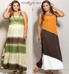 Moda Plus Size para o verão 2014
