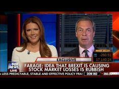 Nigel Farage on Fox News after Brexit..JUN16