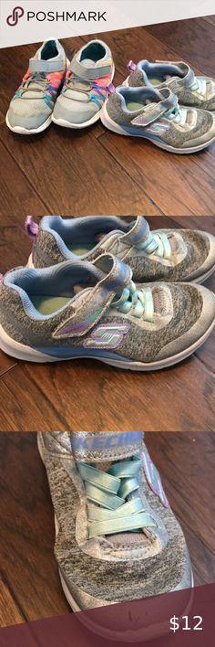 12 pair Women/'s Gotta Flurt Silver Sequin high top sneakers size range 5.5-9