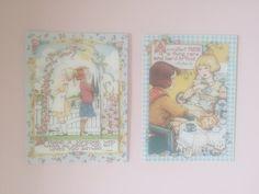 Baby Lamb, Find Friends, Vintage Cards, Thrifting, Pastel, Cake, Budget, Lamb, Crayon Art