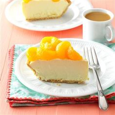 Arctic Orange Pie Recipe -This frosty pie is so easy to make. I have tried lemonade, mango and pineapple juice concentrates instead of orange, and my family loves each one. —Marie Przepierski, Erie, Pennsylvania