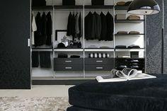 walk-in wardrobe SCREEN by Massimo Luca ALBED