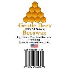 Best air besta on pinterest gentle bees 616043804392 premium 8 ounce block of beeswax fandeluxe Image collections
