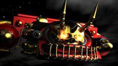 Death Sqaud One's air ship: The Grim Reaper