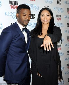 Has everybody seen my ring? Princess Love flashes her huge diamond at premiere with fiance Ray J Huge Engagement Rings, Real Tv, Kendra Wilkinson, Transgender Model, Love Sick, Eat Your Heart Out, Love N Hip Hop, Reality Tv Shows, How To Show Love