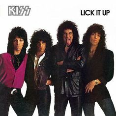 """On this day in KISSTORY - September KISS released their platinum album 'Lick It Up."""" It was the first album to feature the band on the cover without KISS makeup! Hard Rock, Kiss Band, Kiss Lick It Up, Lp Vinyl, Vinyl Records, Kiss Album Covers, Heavy Metal, Eric Singer, Banda Kiss"""