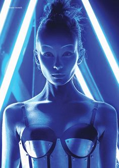 Awakening the robot: future beauty in Dew - Fashionising.com
