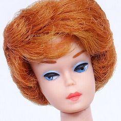 STUNNING! VINTAGE BLONDE Bubble Cut Barbie Doll Mint! *1DAY* - $30.00 | PicClick Honey Blonde Hair, Blonde Hair Blue Eyes, Brunette To Blonde, Midge Barbie Doll, Vintage Barbie Dolls, Peach Lips, Pink Lips, 2 Tone Hair, Vintage Redhead