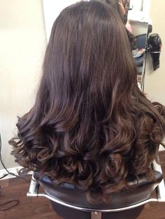 Great blow dry for long curly hair. Kate Middleton vibe