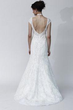 Classic Open Back Wedding dress