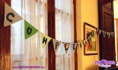 BANDERINES! myvioletdesigns.com