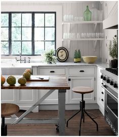 Kitchen, : Good Looking Image Of Kitchen Decoration Using Vintage Rustic Round Wooden Metal Tall Kitchen Chair Including Mount Wall Corner White Wood Kitchen Shelving And White Wood Free Standing Pantry Cabinet