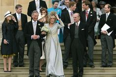 Prince Charles and Camilla Parker Bowles marriage 2005 with Princes William and Harry