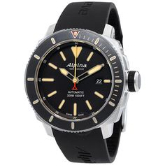 Alpina Seastrong Diver 300 Automatic Men's Watch 525LGG4V6 - Seastrong - Alpina - Watches - Jomashop