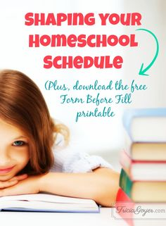 I've been a homeschooling mom for almost twenty years, and for so many of those years I filled our lives with too much. Thankfully there was a moment when I stepped back, took a good look, firmed up what I wanted to achieve in our homeschool, and then filled our schedule from there. Want to know where I got that idea? Genesis 1.
