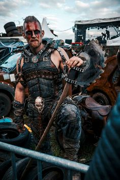 post apocalyptic men's cosplay / LARP / wasteland / Mad Max