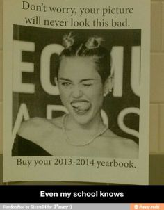 Yearbook marketing done right! Will probably catch kids eye and they will think its funny -Kara Teaching Yearbook, Yearbook Class, Yearbook Design, High School Yearbook, Funny Quotes, Funny Memes, Hilarious, It's Funny, Funny Stuff